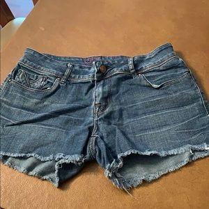 Delia's Jean shorts. Super cute!!!